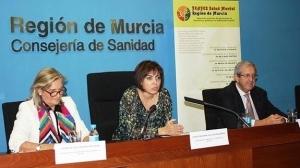 Consejera de sanidad Guillen, Giribet y Topham en anuncio de 5,5mill € para empleo TMG