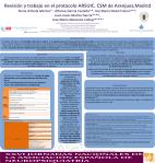 56. Revisión protocolo ARSUIC. CSM Aranjuez